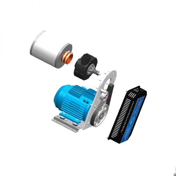 High Speed Centrifugal Blower RAETTS-85 7 5KW - Raetts
