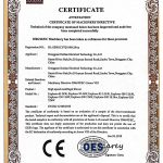 Raetts Explorer Blower CE Certificate